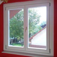 Fa ablak fehér színben