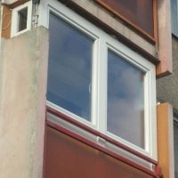 Teraszbeépités műanyag ablakkal