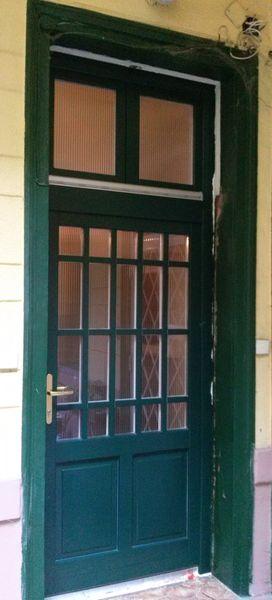 Hőszigetelt fa bejárati ajtó